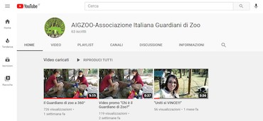 Nuovo Canale YOUTUBE AIGZOO