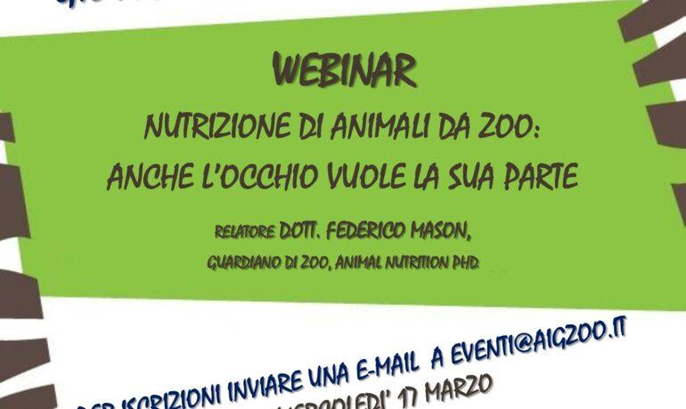 Nutrizione di animali da Zoo