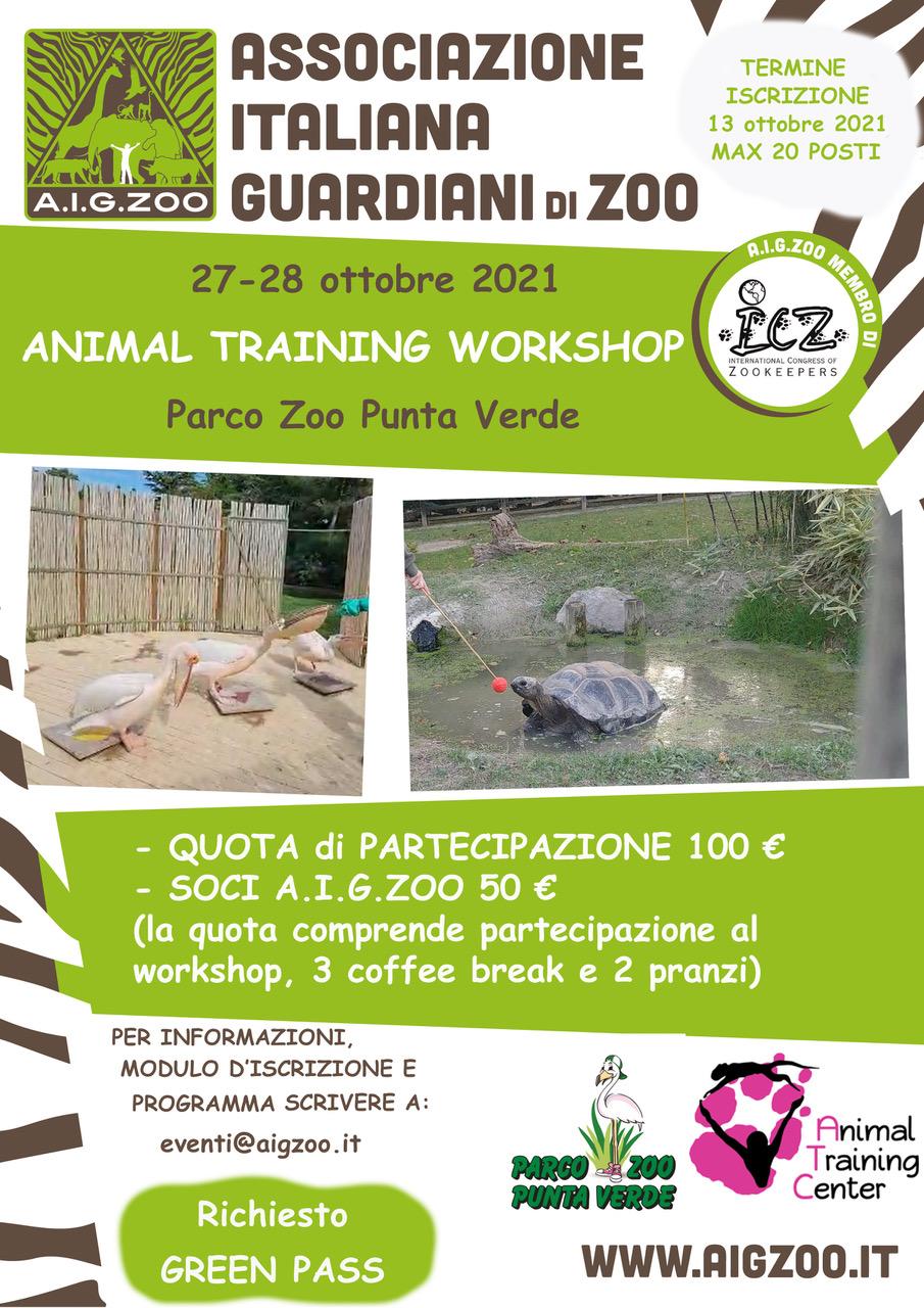 ANIMAL TRAINING WORKSHOP